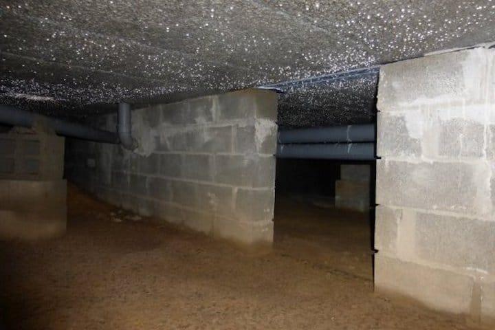 Kruipkelder isoleren - © Isolatie & Renovatie Verhoeven