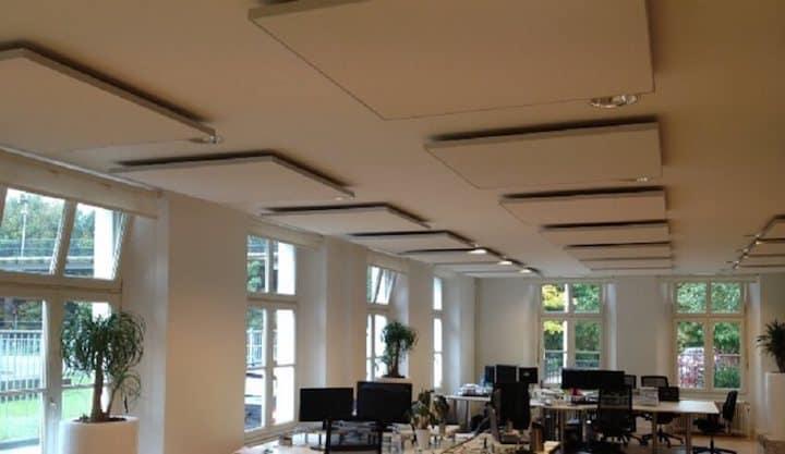 Akoestische isolatie voor op restaurant, café of het kantoor - © Easy-noisecontrol.nl