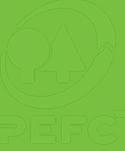 PEFC logo op Houtwol isolatie